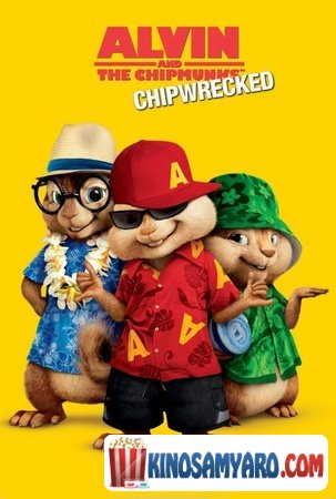 Elvini Da Taxvebi 3 Qartulad / ელვინი და თახვები 3 / Alvin and the Chipmunks: Chipwrecked